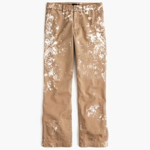 J. Crew Limited Edition Paint Splatter Chinos